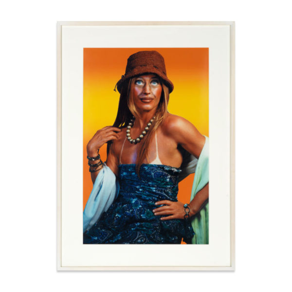 Cindy Sherman, Self-Portrait with Sun Tan