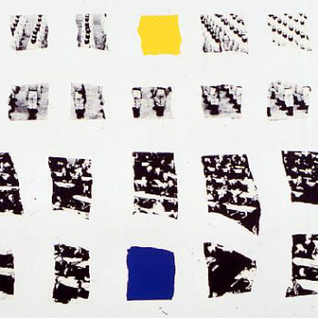 John Baldessari, Two Assemblages (Opaque), Lithograph and screen print