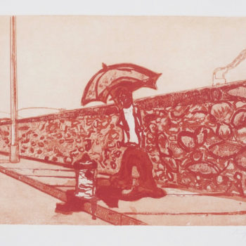 Peter Doig Prints, Lapeyrouse Wall, Etching, Aquatint