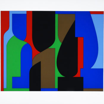 Victor Vasarely, Denfert, Screen print