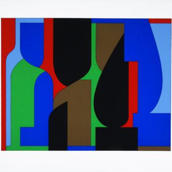 Victor Vasarely, Denfert, Screen print