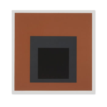 Josef Albers Prints, Attic, Screen print, Silkscreen, Limited edition print
