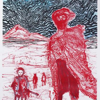 Daniel Richter, Begegnungen im Hinterland, Limited Edition Prints