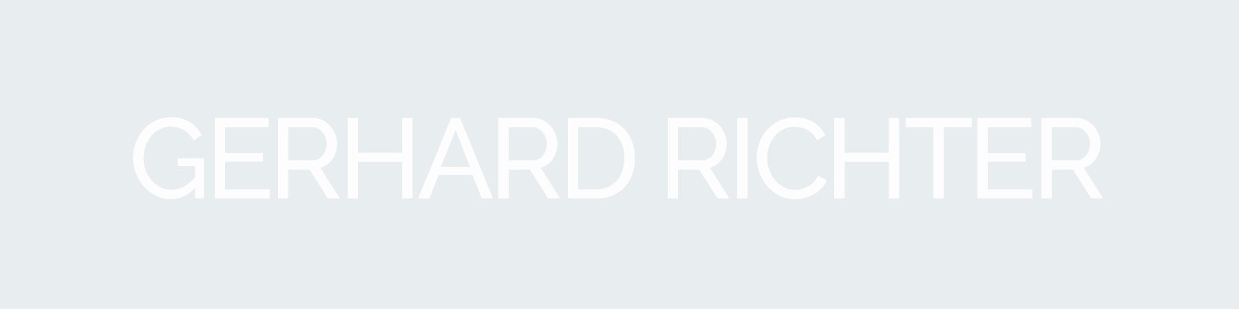 GERHARD RICHTER PRINTS