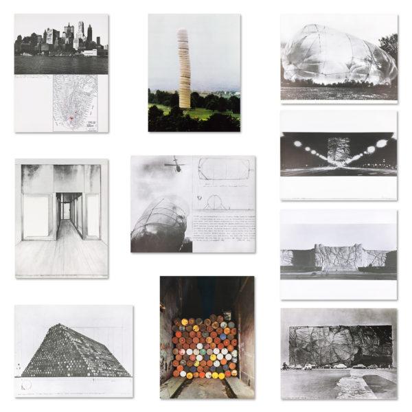 Christo, Monuments