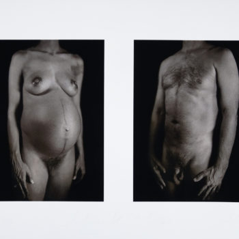 Chuck Close Photography, Nude