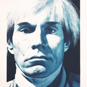 Gottfried Helnwein, Andy Warhol, Limited Edition Print