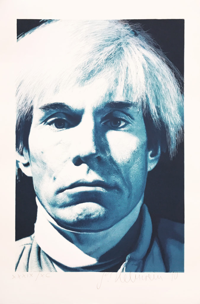 Gottfried Helnwein, Andy Warhol, Limited Edition Print