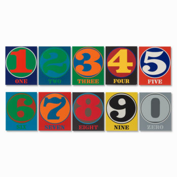 Robert Indiana, Numbers Portfolio