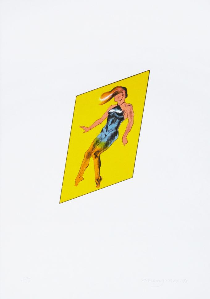 Allen Jones, Catwalk Fragment, Print