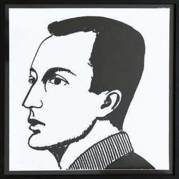 Alex Katz, Frank O'Hara, Print