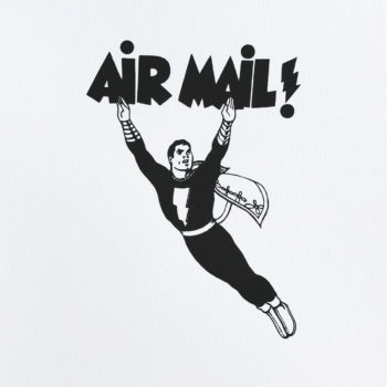 Mel Ramos, Air Mail, Lithograph, Print