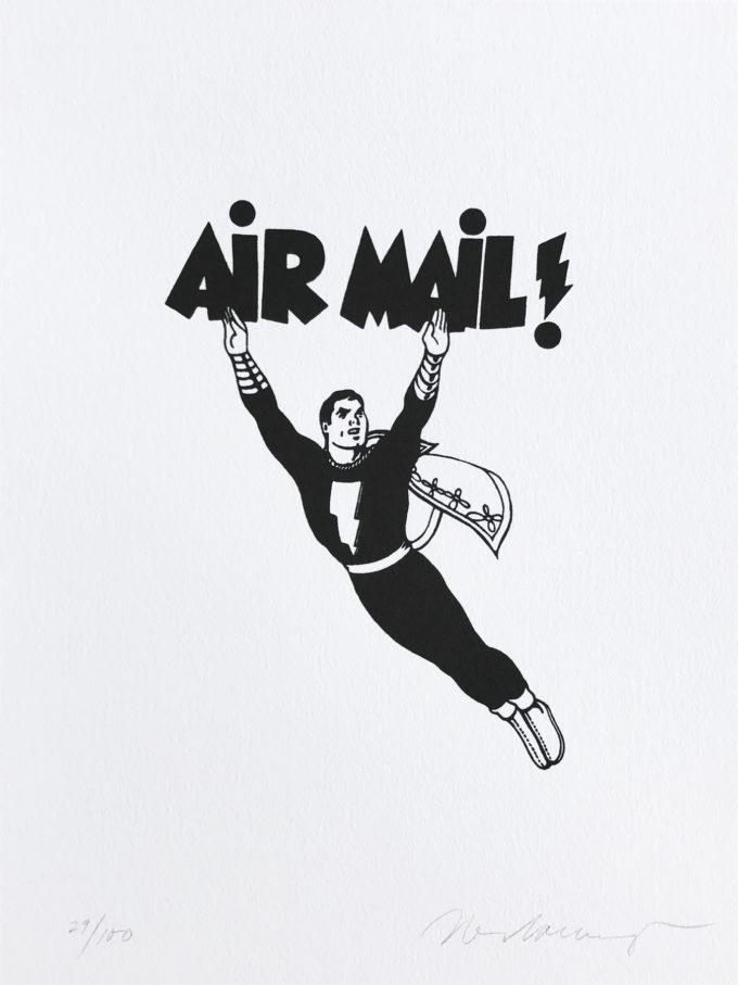 Mel Ramos, Air Mail, Lithograph, Print