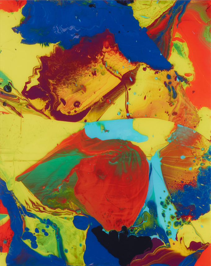 Gerhard Richter, Bagdad, P10, C print