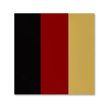 Gerhard Richter, Schwarz Rot Gold, Limited Edition