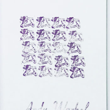 Andy Warhol, Purple Cows, Limited Edition Print