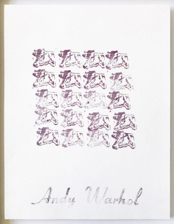 Andy Warhol, Purple Cows