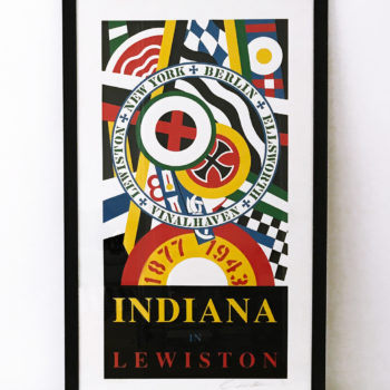 Robert Indiana, Lewiston