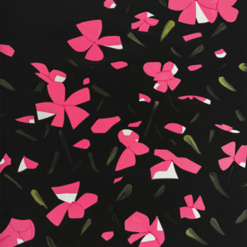 Alex Katz, White Impatiens