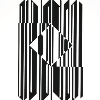 Victor Vasarely, Untitled, Screenprint