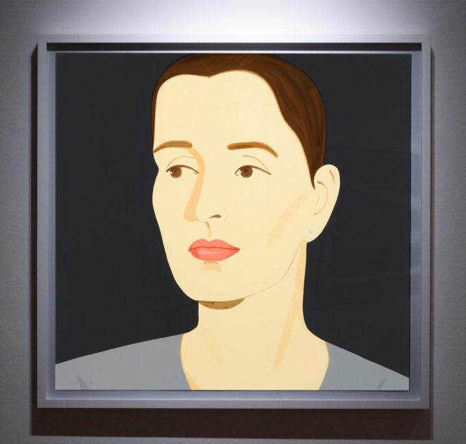 Alex Katz, Vivien, Print