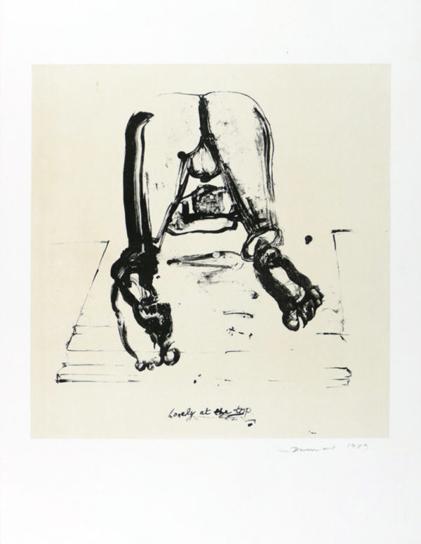 Marlene Dumas, Lonely at the Top