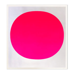 Rupprecht Geiger, Pink on Silver