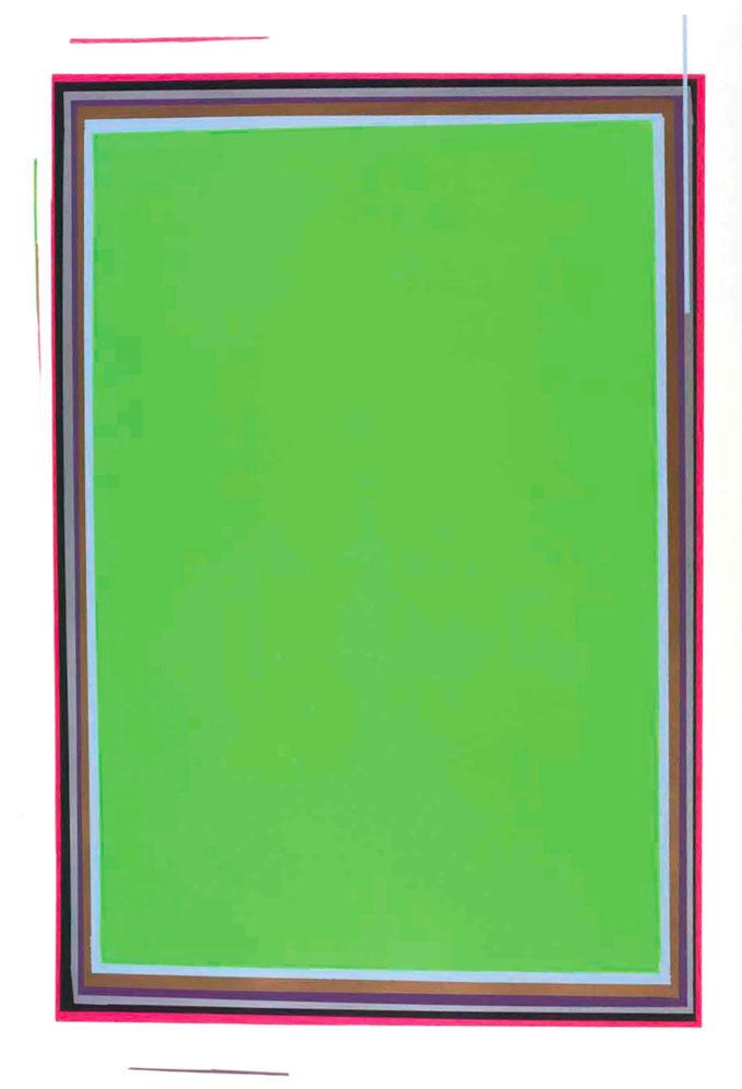 Anselm Reyle, Untitled (Green)