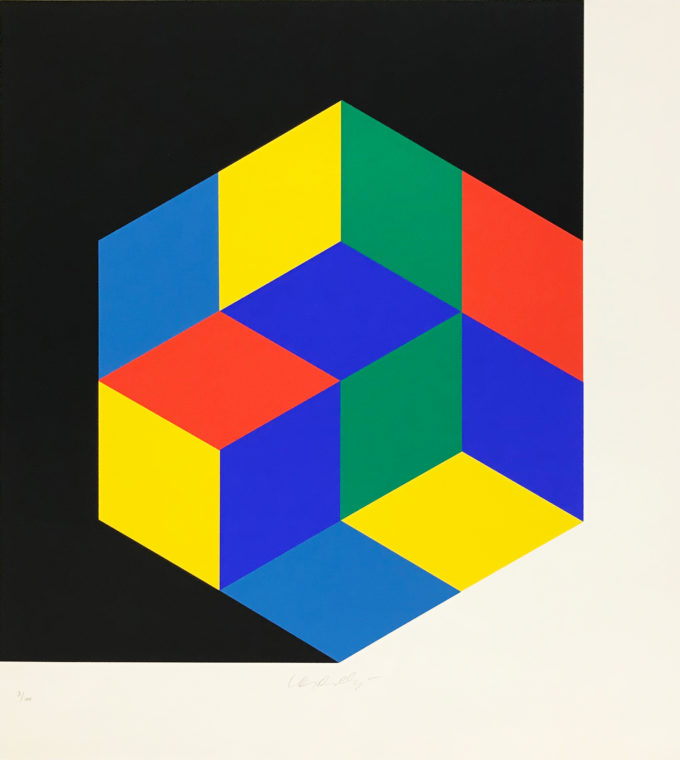 Victor Vasarely, Large Crystal