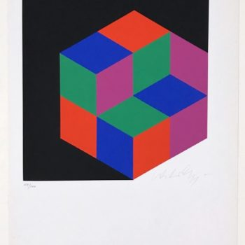 Victor Vasarely, Small Crystal