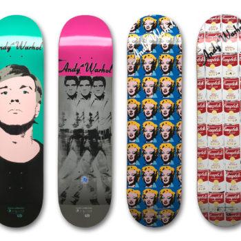 Andy Warhol, Skateboard Decks