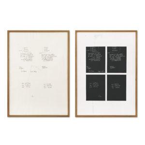 Joseph Beuys, Gletscher Schwamm Totenbett