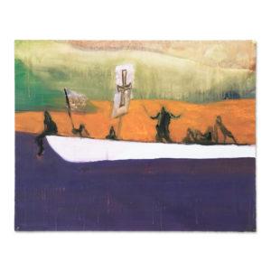Peter Doig, Canoe