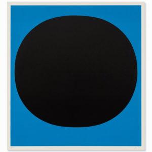 Rupprecht Geiger, Black on Blue