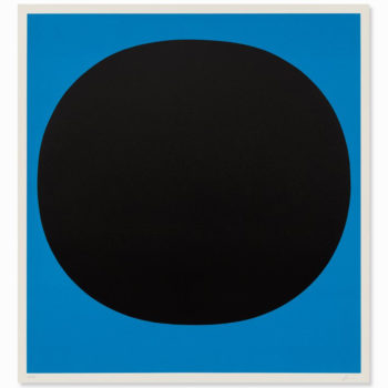 Rupprecht Geiger, Black on Blue