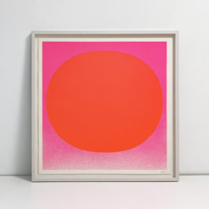 Rupprecht Geiger, Orange on Pink