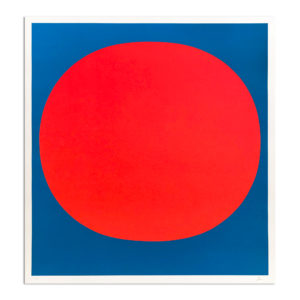 Rupprecht Geiger, Red on Blue