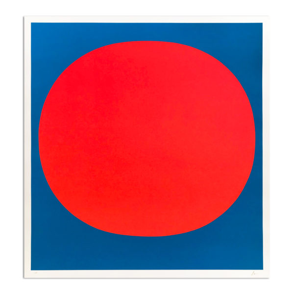 Rupprecht Geiger, Red on Blue