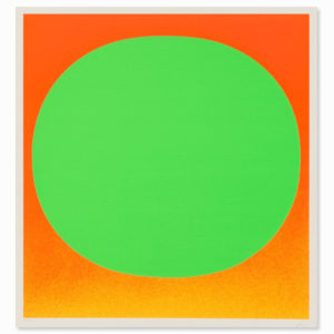 Rupprecht Geiger, Green on Orange