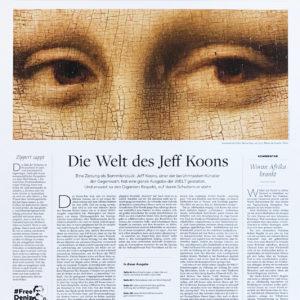 Jeff Koons, Die Welt