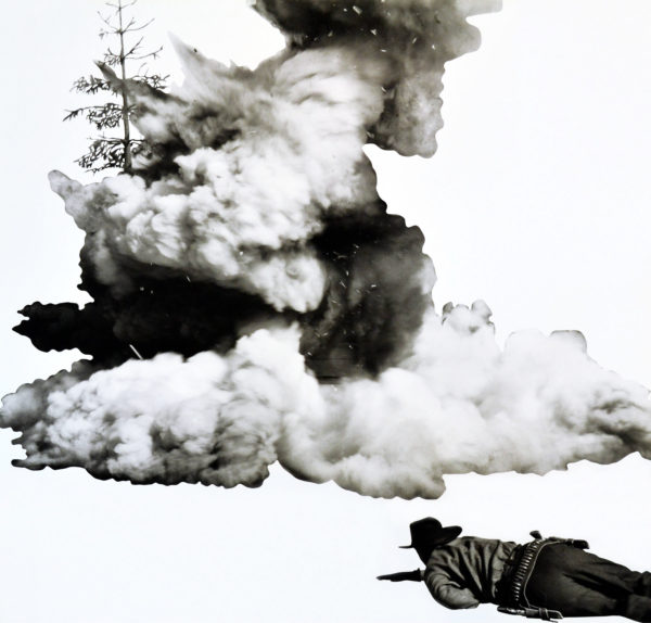 John Baldessari, Smoke, Tree, Shadow and Person