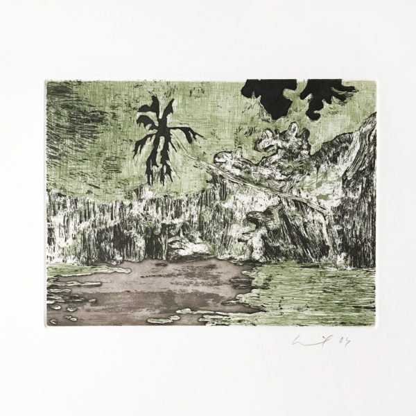 Peter Doig, Black Palm