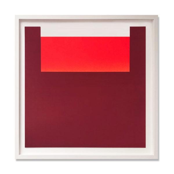 Rupprecht Geiger, Orange on Red