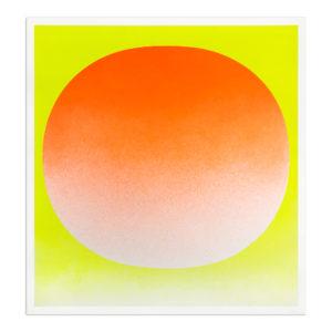 Rupprecht Geiger, Orange on Yellow