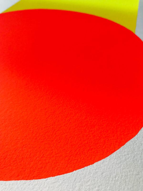Rupprecht Geiger, Yellow to Orange