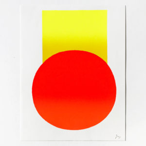 Rupprecht Geiger, Yellow to Orange