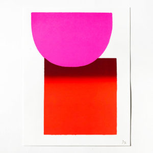 Rupprecht Geiger, Pink to Red