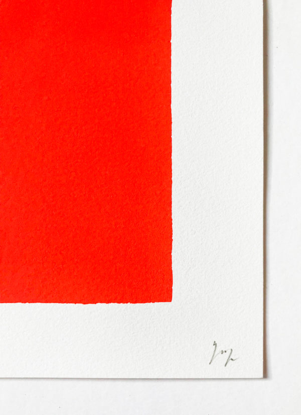 Rupprecht Geiger, Pink to Red