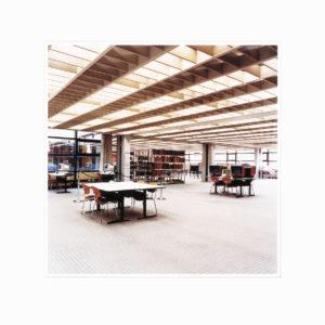 Candida Höfer, Universitätsbibliothek Hamburg B