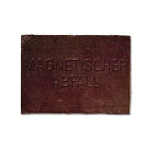 Joseph Beuys, Magnetischer Abfall